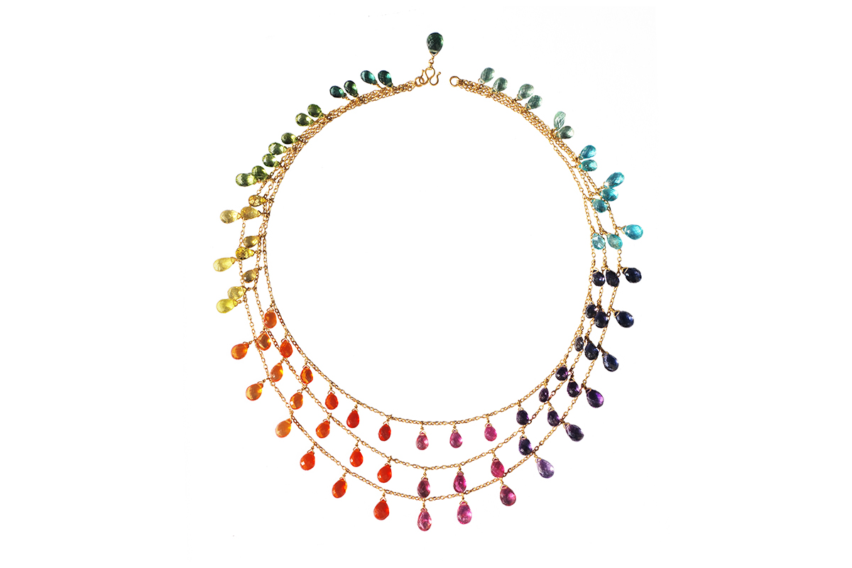 The colorful and delicate talismans of Marie-Hélène de Taillac