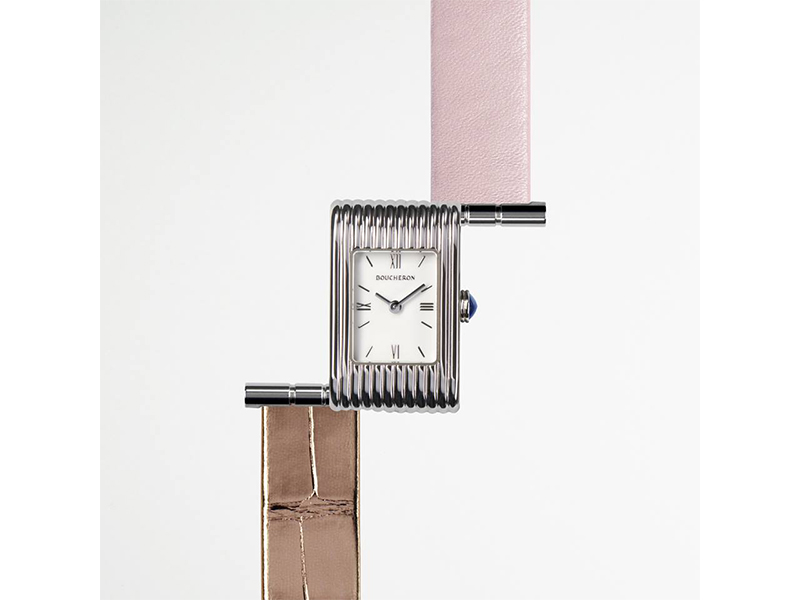 Boucheron Reflet watch with interchangeables straps