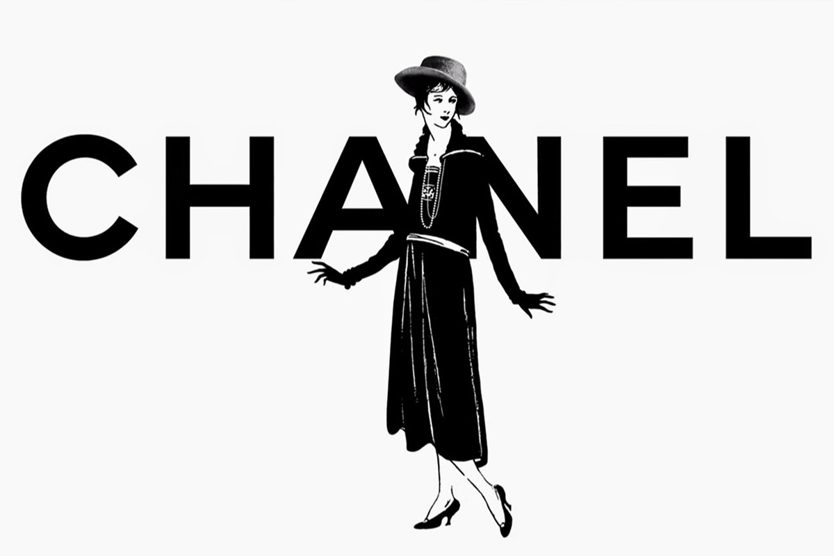 Coco Chanel drawing