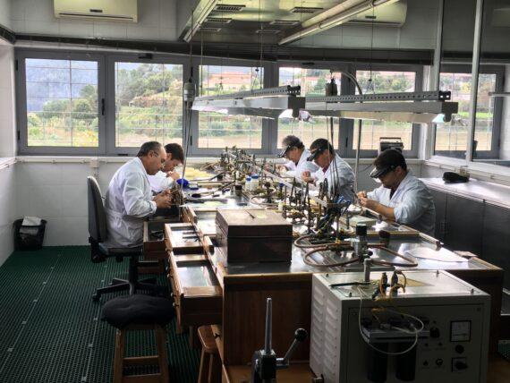 Eleuterio's atelier in Braga