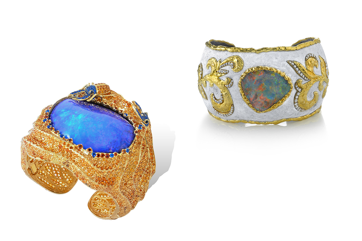 Black or White, the Opal is THE must-not-miss-out-on current Jewelry craze.