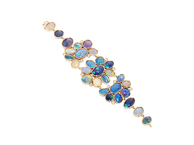 Irene Neuwirth Rose Gold and opal Bracelet