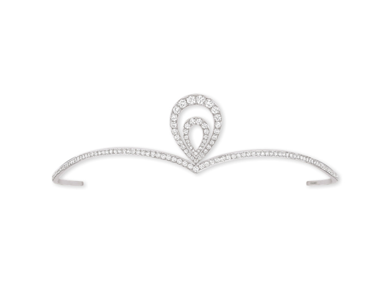 Chaumet Diademe Josephine Aigrette in white gold with diamonds