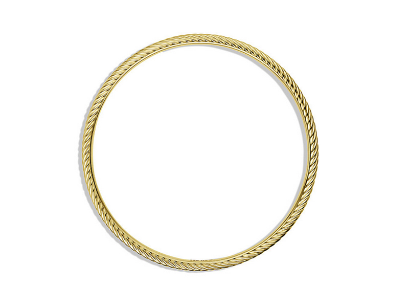 David Yurman Cable Classics Bangle in Gold - 1645 €