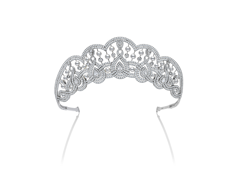 Garrard Entanglement tiara