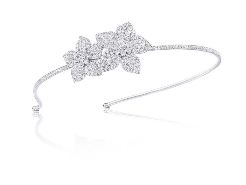 Graff Alice band flowers headband