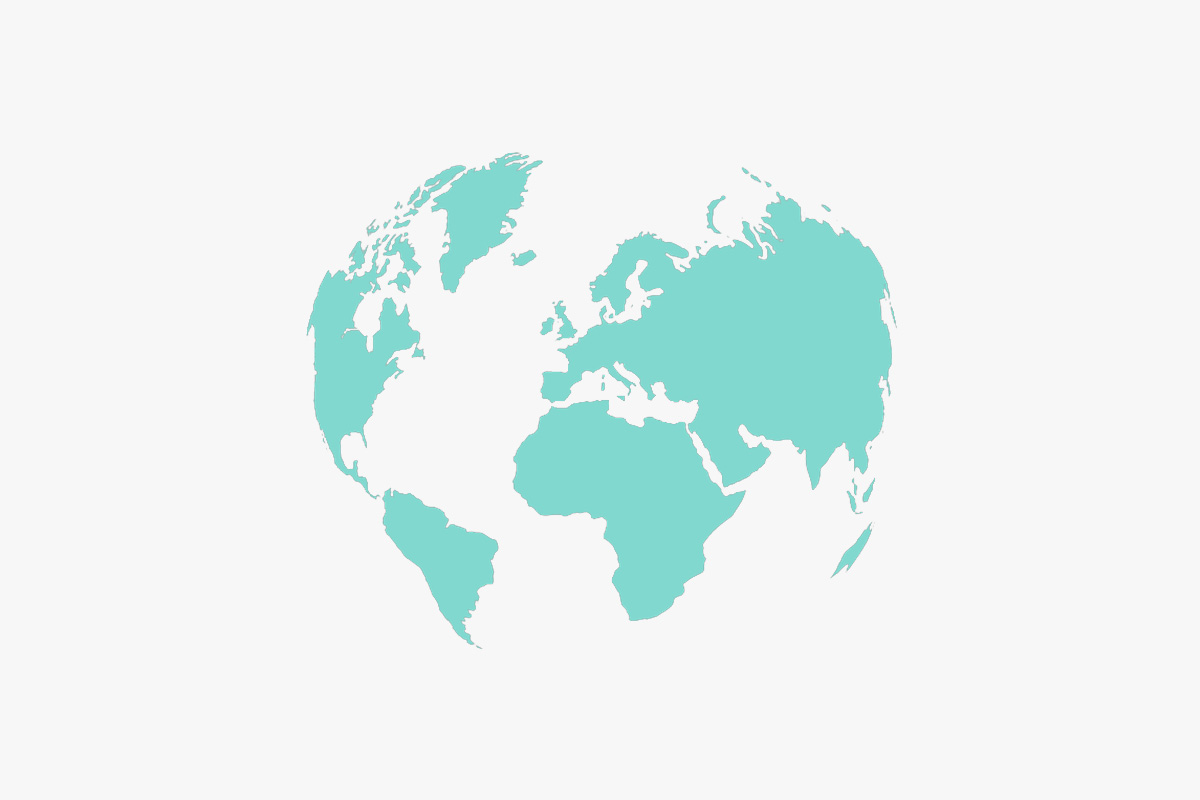 Tiffany & Co. world map