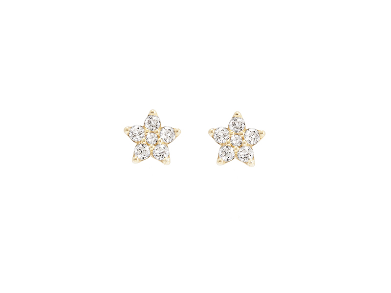Ole Lynggaard Copenhagen Earring mounted on gold with diamonds - 3950 €