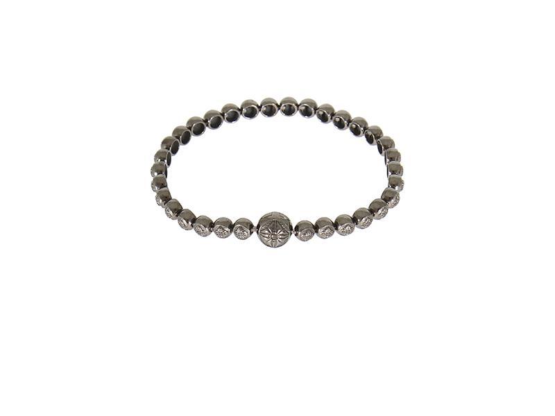 Shamballa Jewels Black Gold and Black Diamonds Bracelet 11600€