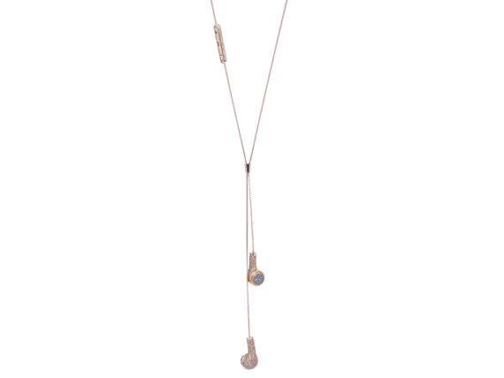 Nadine Ghosn Can you Hear me? necklace