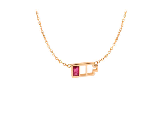 Nadine Ghosn Low Battery necklace