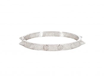 Best selection of bangles with diamonds !