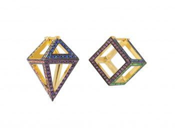 Best asymmetric earrings selection !