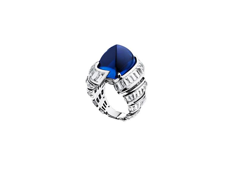 Alexandre Reza Turban Sapphire Ring