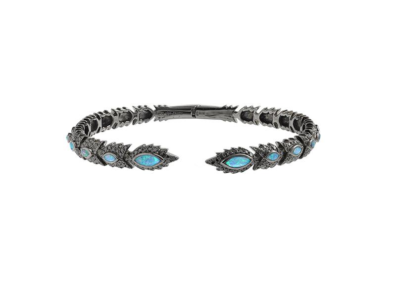 Aaron Jah Stone Black Phoenix bracelet
