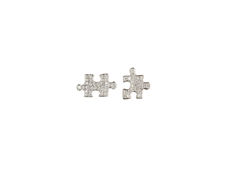 Akillis Puzzle earrings