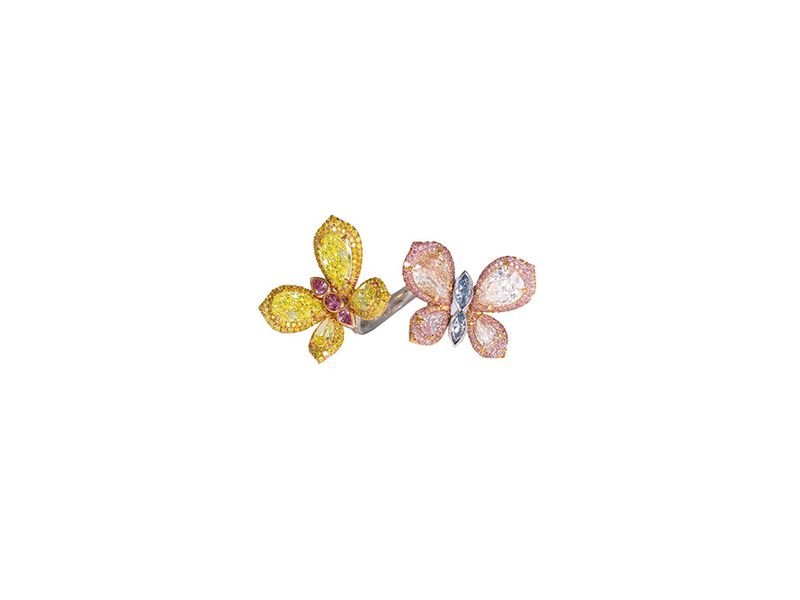 David Morris Butterfly ring