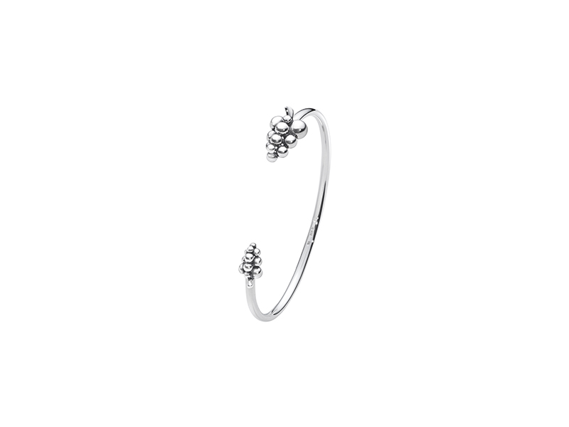 Georg Jensen Moonlight grapes bangle mounted on sterling silver - 375$
