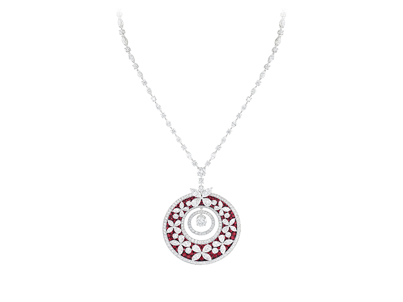 Graff Butterfly medallion collection ruby