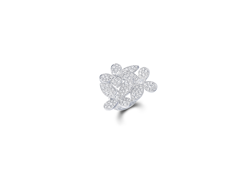 Graff Pave butterfly diamonds ring