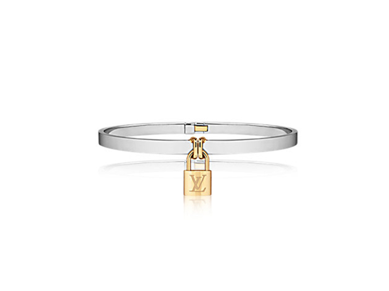 Louis Vuitton Bracelet lock it in yellow gold & white gold - 6200€
