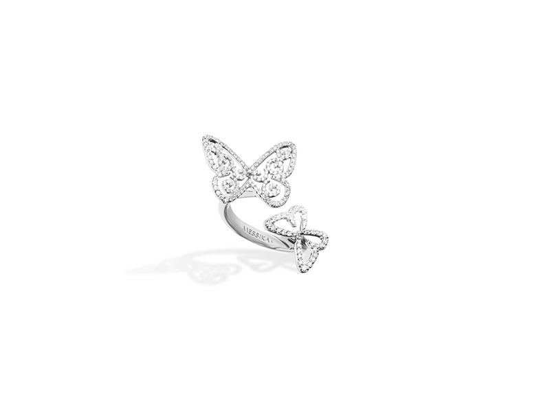 Messika Butterfly jewelry ring diamonds