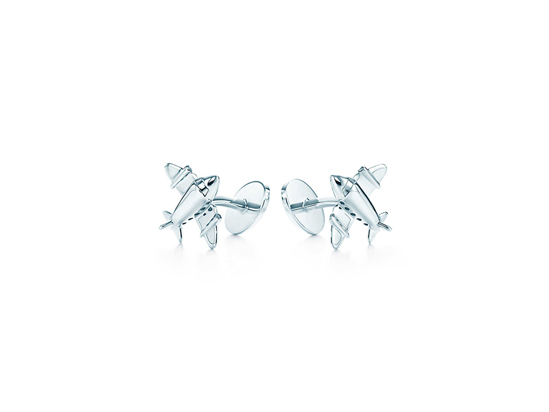 Tiffany & Co Airplane cufflinks in sterling silver - 390 €