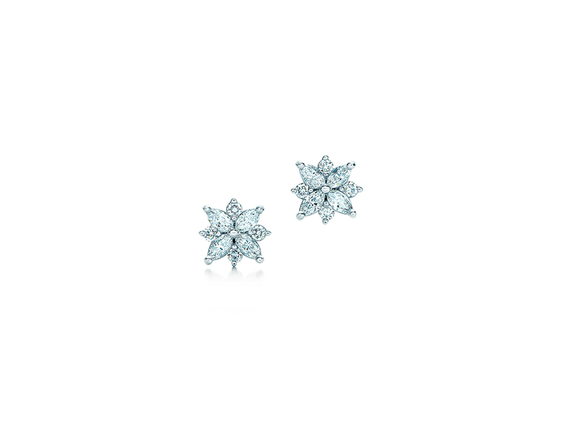 Tiffany & Co Cluster earrings