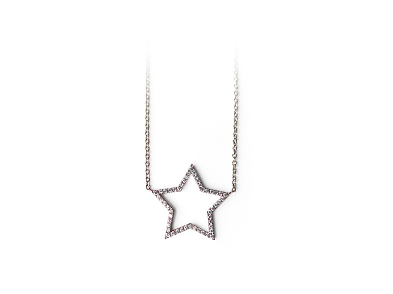 Alexandra Darier Nude Star Necklace