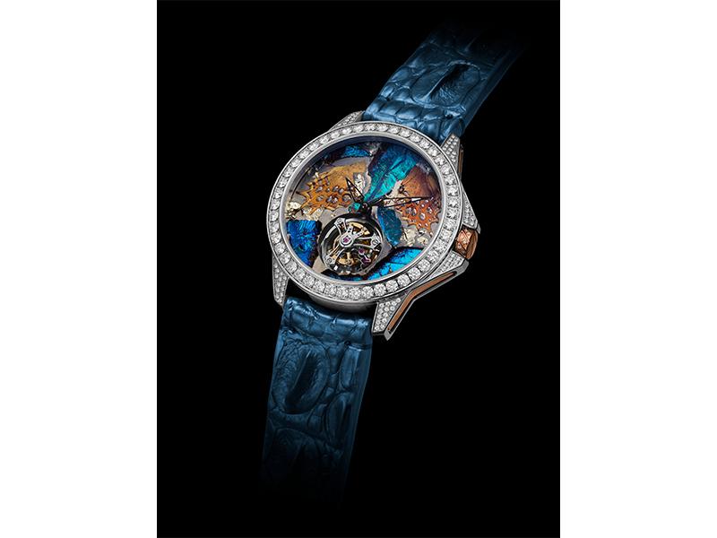 ArtyA Butterfly Set toubillon watch