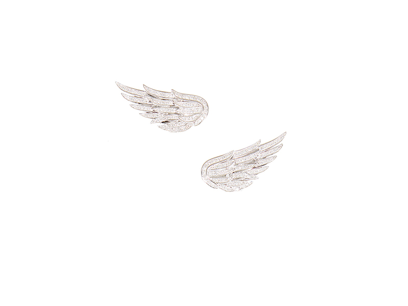 AS29 Stud Wings Earrings 4700 €