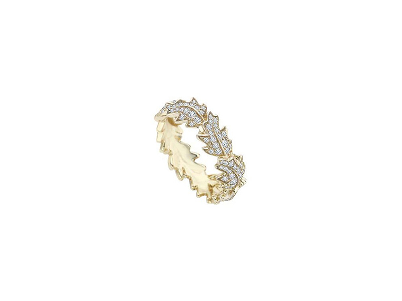 Asprey Oak Leaf Ring