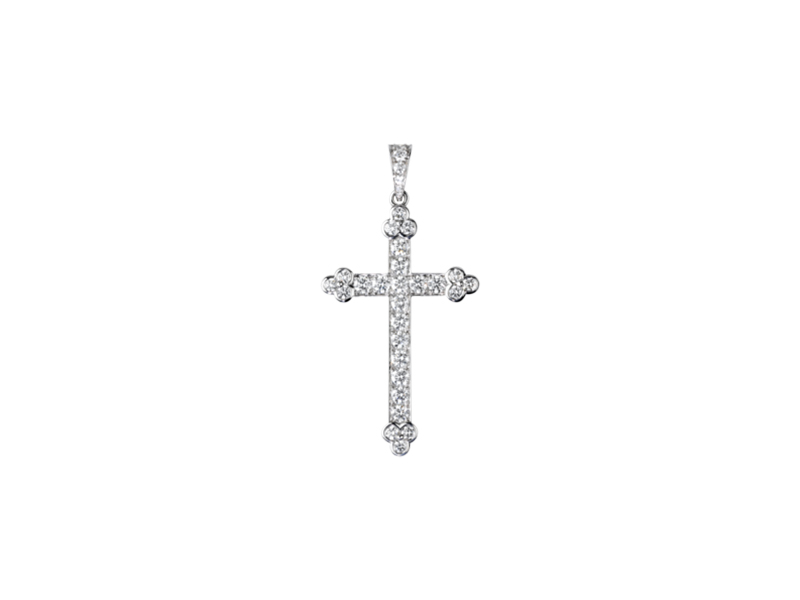 Cartier Cross Decor Pendant 23500 $