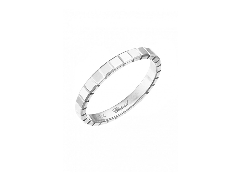 Chopard Ice cube ring white gold