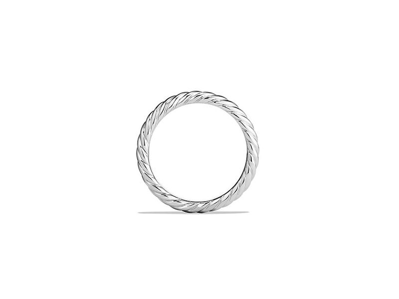 David Yurman Band ring in platinum 1780€
