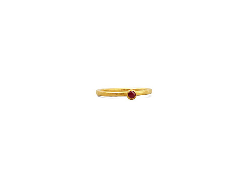 Gurhan Skittle Ruby Ring