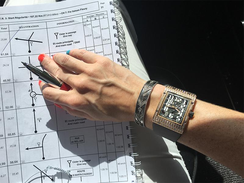 Richard Mille Watch et Bracelet Jacquie Aiche