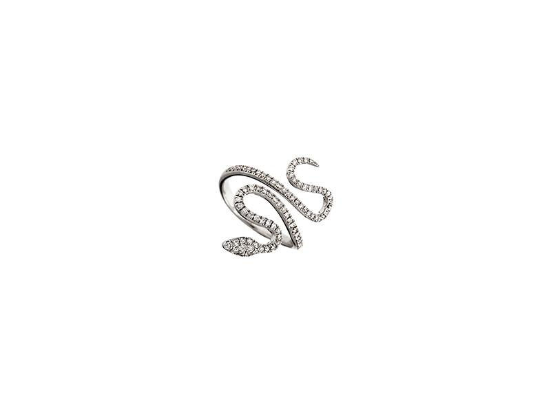 Messika Snake Ring