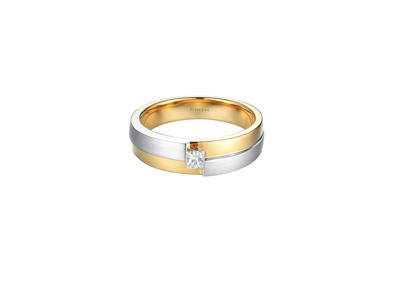 Peter Lam Yellow gold and white gold with diamond