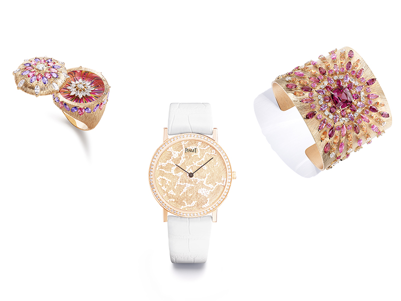 Piaget High Jewelry Sunlight Journey collection