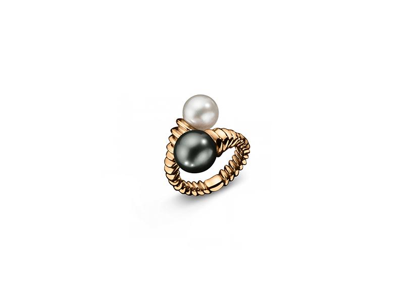 Bucherer Pink gold south sea cultured pearl tahitian cultured pearl