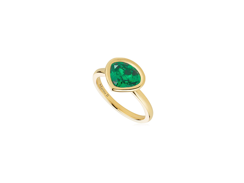 Mariana B  The mila emerald ring 4800 $