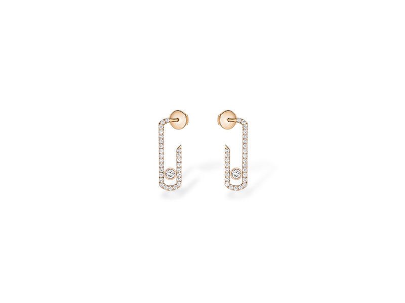 Messika Move Addiction pavé diamond earrings