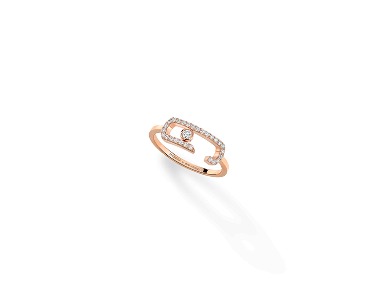Messika Move Addiction pavé diamond ring
