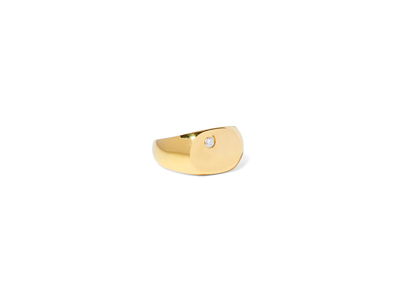 Acosha Gold plated and seal diamonds 177 €