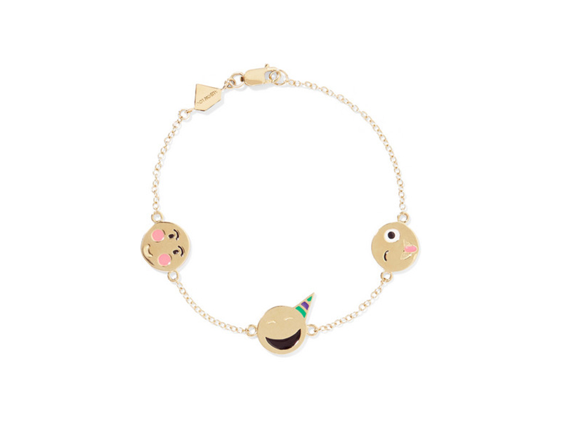 Alison Lou Celebration bracelet mounted on 14 karat gold with enamel - 909 €