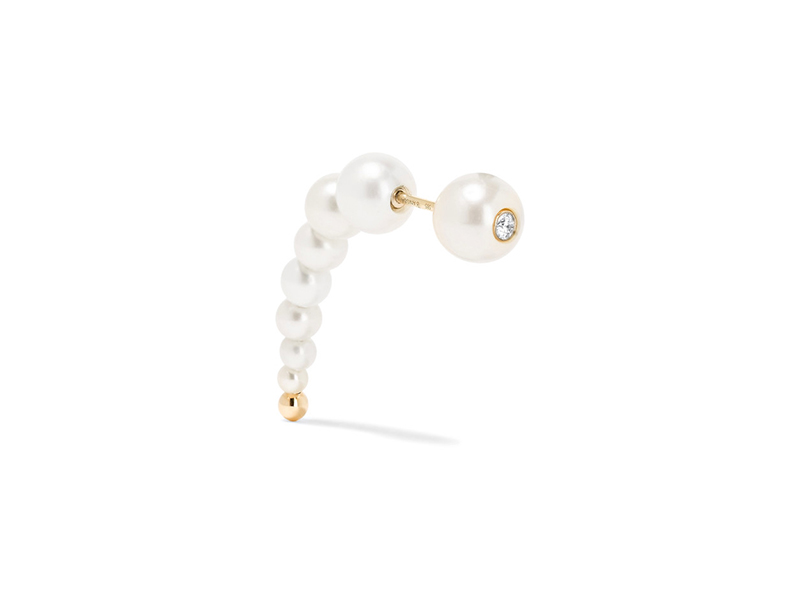 Anissa Kermiche Mounted on gold with pearl and diamond 904 €