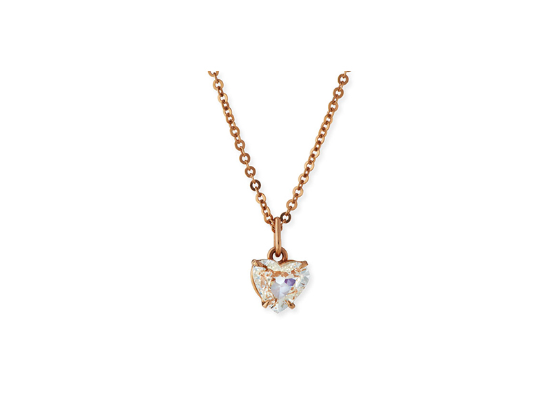 Anita Ko Diamond heart pendant necklace mounted on rose gold - 14'540 $