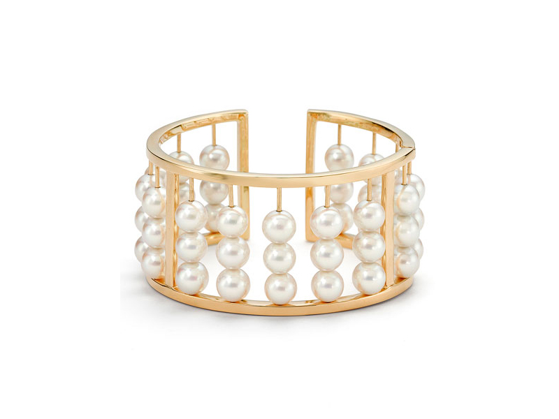 Assael Akoya pearl abacus bangle bracelet 17'000 $