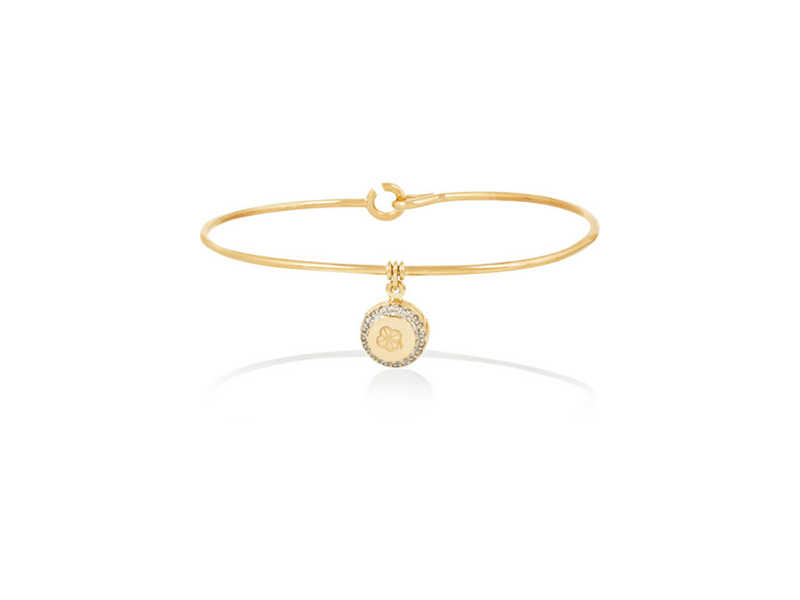 Aurelie Bidermann Belle collection 18 karat gold diamond - 3739 €